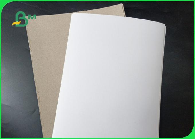 200g To 450g Higher Stiffness Coated Duplex Board With Grey Back For FSC Approved