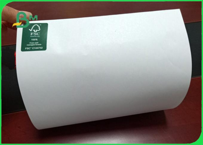 Size 650 / 800mm high stiffness and mechanical strength offset paper in roll