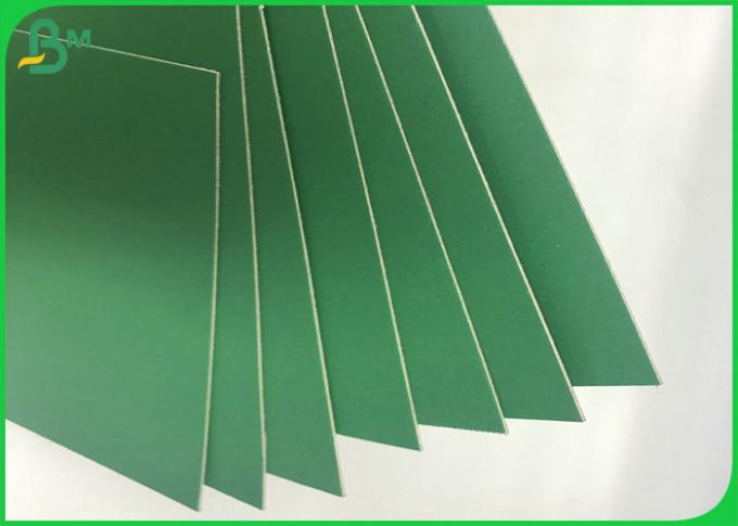High Stiffness 70 x 100cm 1.2mm - 3.0mm Colored Book Binding Board In Sheet