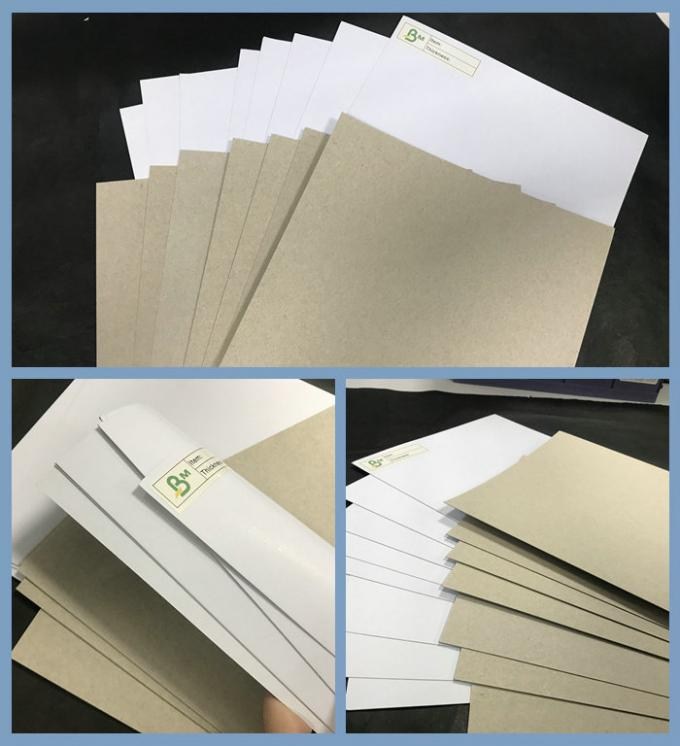 Jumbo Roll C1S Grey Back White Top Paper 250gr to 400gr Duplex board 1300mm